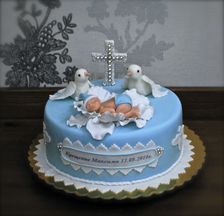 Торт на крестины фото
